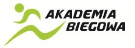 Akademia biegowa logo